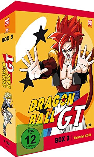 Dragonball GT - Box 3/3 (Episoden 42-64) [4 DVDs]