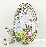 gperw 6pcs forniture di nozze box Tin uova di Pasqua Day dipinta guscio d' uovo stile scatola di latta