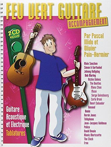 Feu Vert Guitare Accompagnement Tab 2 CD par Collectif
