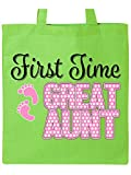 Best Great Aunt - first time great aunt Tote Bag Review