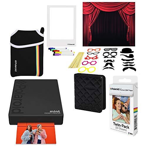 rer Fotodrucker (Schwarz) Photo Booth Bundle ()