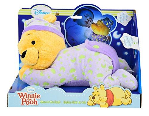 NICOTOY Simba 6315871568 - Disney, peluche di Winnie The Pooh, orso della buonanotte