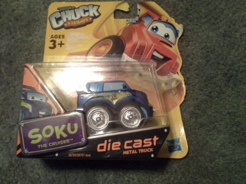 Tonka Chuck & Friends - SOKU The Cruiser Die Cast Metal Truck by Tonka