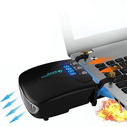 Portable USB Laptop Kühler Lüfter Kühlung Slim Laptop Kühlung Intelligente Temperaturen Control Notebook Laptop Zubehör