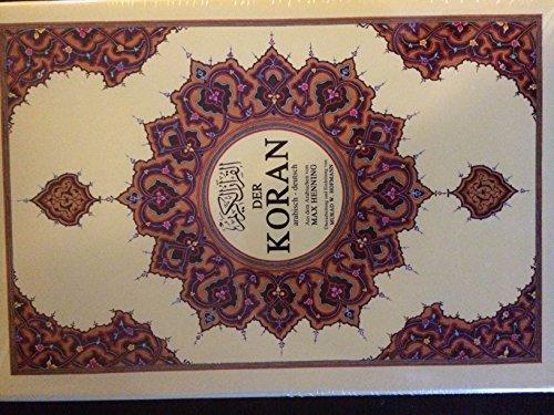 Der Koran Arab./Deutsch gebunden Mega-Format, Übers. Max Henning, hochwertig