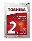 Toshiba P300 2 TB Interne Festplatte (8,9 cm (3,5 Zoll), SATA) Schwarz