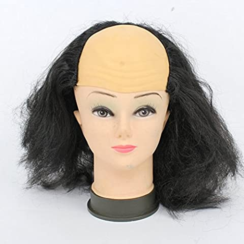 SLG Halloween Show forniture/parrucca Calvo/parrucca Vecchia donna/vecchio parrucca/rifornimenti del