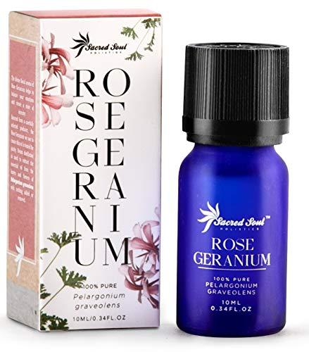 Aceite esencial de geranio Sagrado Soul 100% puro