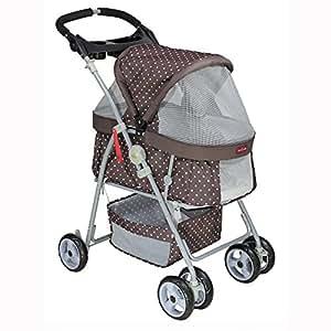 Twin Pet Stroller Dog Trailer Confort Double Pettio ...