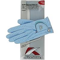 Kasco Women's Fit Fashion Golf-Handschuh, Größe s, Weiß