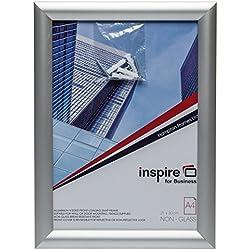 The Photo Album Company Snapa4s A4Inspire pour Business Snap Cadre Aluminium