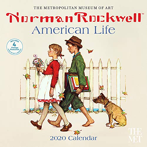 Norman Rockwell American Life 2020 Wall Calendar -