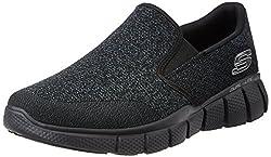 Skechers Sport Mens Equalizer 2. 0 Wide Slip-on Loafer, Black, 7 4E US