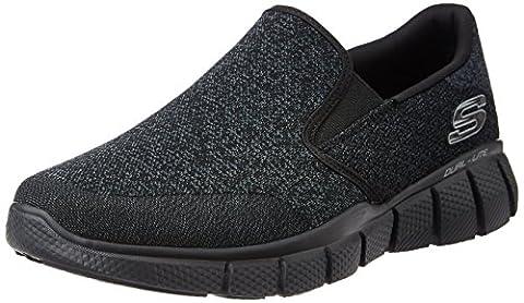 Skechers Equalizer 2.0, Men Low-Top Sneakers, Black (bbk), 12 UK (47 1/2 EU)