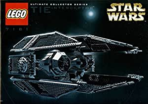Lego Star Wars Ultimate Collector Series TIE Interceptor (7181) (Japon import / Le paquet et le manuel sont ?crites en japonais)