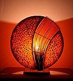 Asiatische Tischleuchten Assan Orange M (LA12-126/OR/M), Tischlampen, Designer Stimmungsleuchten,...