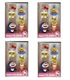 #1: Krisah® Set of 4 Cartoon Character Erasers ( Pack of 4) School Stationary ::Return Gifts for Kids