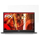 Dell XPS 13 Ultrabook (9343 FHD, Version 2015) Anti-Shock Pellicola protettiva - 2 x atFoliX FX-Shock-Antireflex antiabbagliamento ammortizzante Protettiva di Schermo alta Protezione