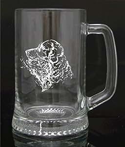 Personnalisé gravé chope en verre de qualité Cadeau, chasse, Tir, cadeau personnalisée, gravure gratuite
