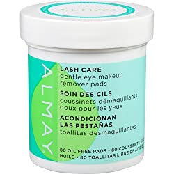 Almay Lash Care Gentle Eye Makeup Remover Pads, 80 count