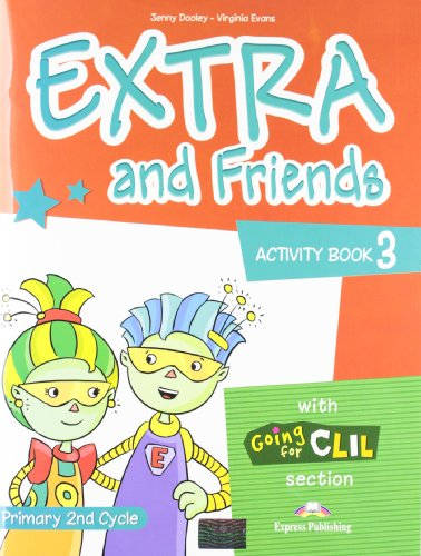 EXTRA AND FRIENDS 3 ACT.ED.11 Express Publishing