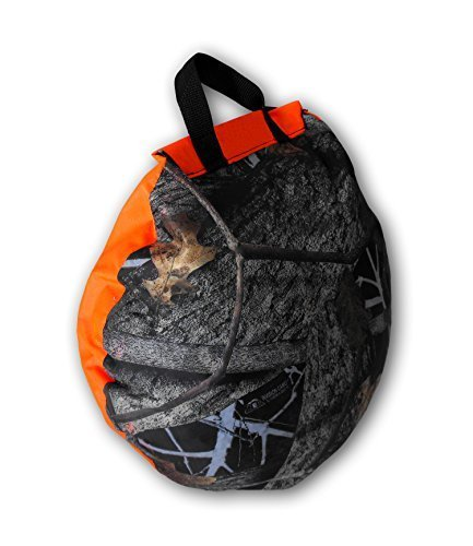 NEP Outdoors HEAT-A-SEAT Insulated Hunting Seat Cushion/Pillow, Blaze/Invision Camouflage by NEP Outdoors