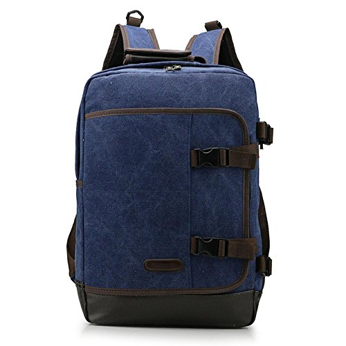SZH&BEIB Fashion Canvas Rucksack Unisex Outdoor-Reisen Daypack für Schule oder Arbeit Laptop-Tasche A