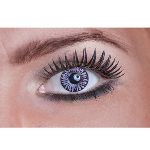 Eyecatcher Color Natural tone-Lenti a contatto colorate da Purple Flower (1x 2pezzi)