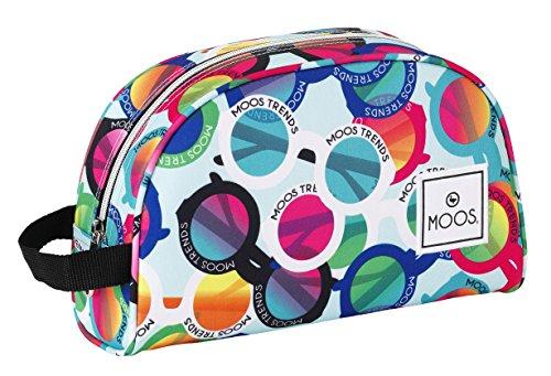 Moos – Neceser, diseño gafas, 28 x 18 x 10 cm (Safta 811523332)