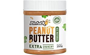 Pintola All Natural Peanut Butter, Extra Crunchy, 350g