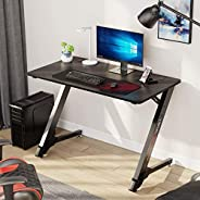 "EUREKA ERGONOMIC Gaming Desk 43"" Home Office Computer PC Desks,"
