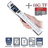 Handscanner Portable, Homeet 1050DPI Dokumentenscanner 1,44