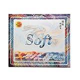 Marie Set C - Juego de 50 pinturas pastel (tonos fríos y cálidos)