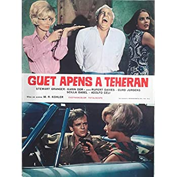 Livret De Presse Film Cinéma Guet Apens À Téhéran / Dimensions: 30 x 41 cm