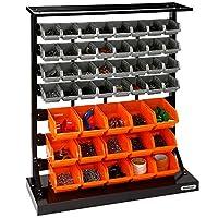 VonHaus Table Top Tool Storage Organiser Container Bins Set - 47 Pcs