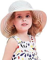 DRESHOW Unisexo Bebé Niña Niño Sombrero de Sol Verano Algodón Ajustable Pescador Gorra Protección de Sol Anti