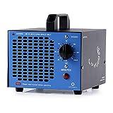 Airthereal Generador de ozono comercial generador 5000 mg ozono, MA5000 de purificadores de aire de ozono industrial ozonizador esterilizador de aire para habitaciones, humo, autos (azul)