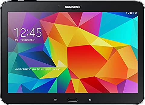 Samsung Galaxy Tab 4 10.1 Wi-Fi 25,6 cm (10,1 Zoll) Tablet-PC (1,2GHz Quad-Core, 1,5GB RAM, 16GB interner Speicher, Bluetooth 4.0, Android 4.4.2, EU-Stecker) schwarz