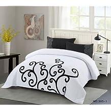 housse de couette fermeture eclair 220x240. Black Bedroom Furniture Sets. Home Design Ideas