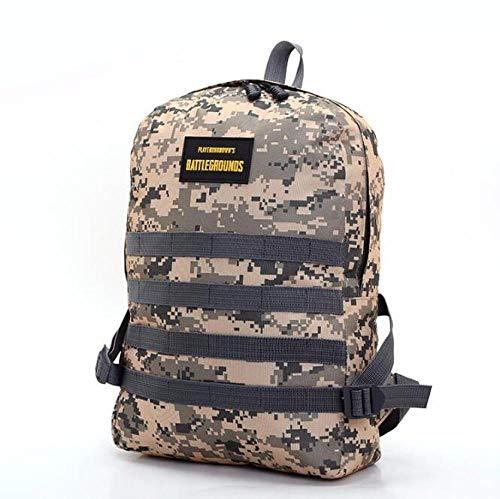 XUEQQ Rucksack Große Kapazität Camouflage Reisetasche Outdoor Chicken Rucksack für Männer und Frauen Casual Rucksack Student Bag
