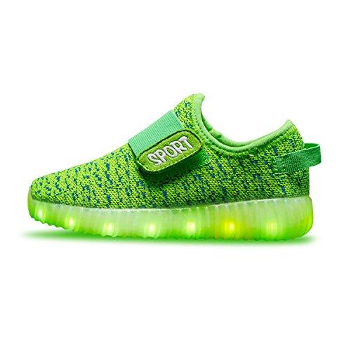 tuluo-nios-y-nios-y-nias-zapatos-led-zapatillas-de-carga-usb-nios-zumbadores-green-27-eu