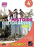 Histoire-Géographie-Enseignement Moral et Civique 4e : Manuel de l'élève