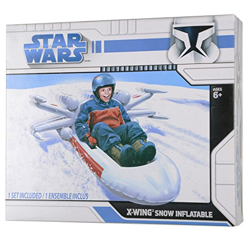 51yxC8x4AZL - BEST BUY #1 Star Wars Snow Sledge Inflatable X-Wing Fighter Reviews and price compare uk