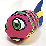 Water Bomb Rocket Fish TATTOO JAWFISH Water Sponge Accurate Toss Flying Pool/Beach Toy