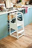 Sweet Home from Wood La Tour d'Apprentissage/d'Observation Montessori est Un Support/marchepied de Cuisine réglable