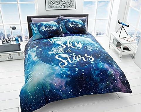 NEW Luxury & Modern 3D GALAXY Duvet / Quilt Cover & Pillowcases Bedding Set (KIng)