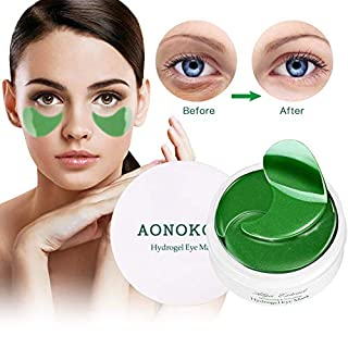 Collagen Under Eye Mask Patches, Under Eye Bag Treatment for Puffiness Eye, Anti-Aging, Reduce Wrinkles