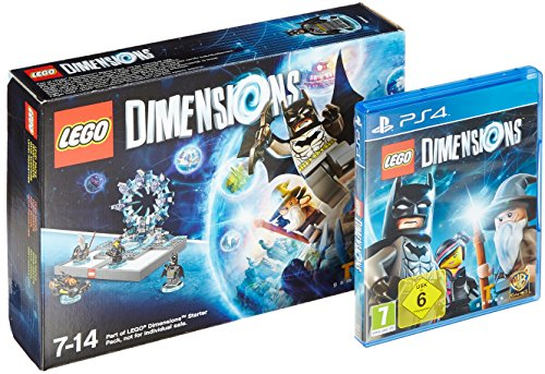 LEGO Dimensions - Starter Pack - [PlayStation 4] + Supergirl Figur - Tt Games Lego