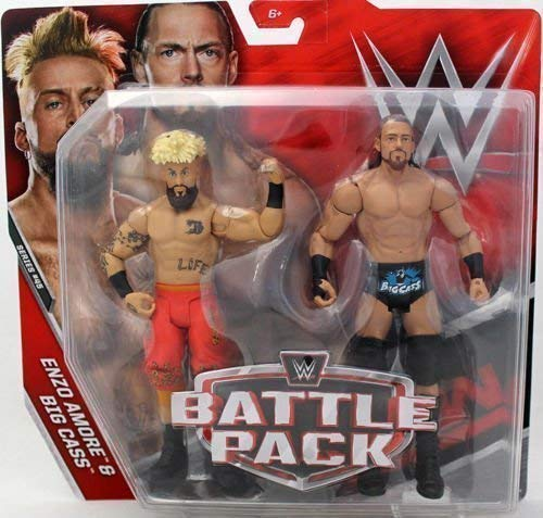 WWE Kampf Pack: Serie 45 Aktion Figuren - Enzo Amore & groß Cass ! 'Wie Dich Durchführen' (Wwe Figuren Big Pack)