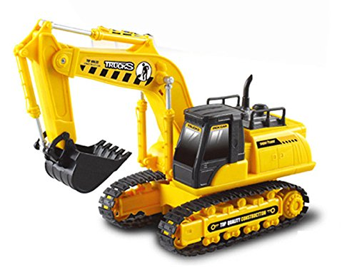 RC CRANE CONSTRUCTION 4CH EXCAVATOR RADIO REMOTE CONTROL VEHICLE CAR